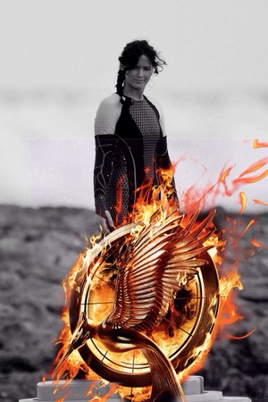 Katniss Everdeen | Catching آگ کے, آگ