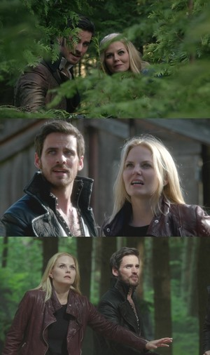 Killian Jones and Emma cisne