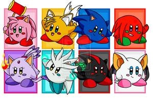 Kirby Sonic team