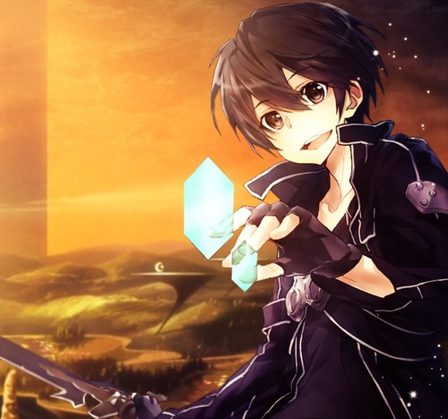 Sword Art Online wallpaper entitled Kirito