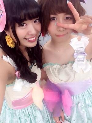 Kitahara Rie and Oya Shizuka