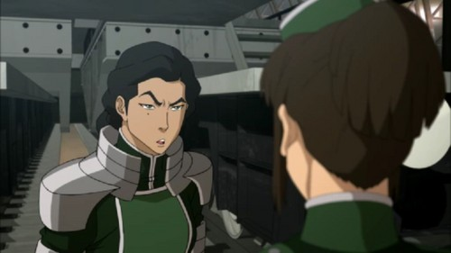 Avatar, La Légende de Korra fond d'écran possibly containing animé entitled Kuvira