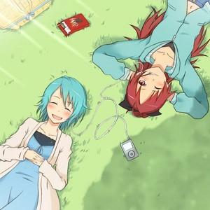 Kyouko and Sayaka