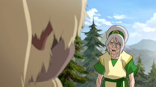 Avatar, La Légende de Korra fond d'écran possibly containing a shield entitled LOK - Toph Beifong