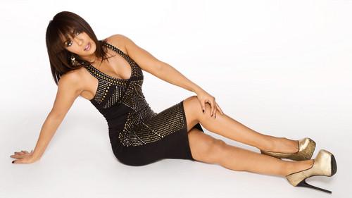 wwe divas fondo de pantalla with a leotard and tights titled Layla's favorito! Dress