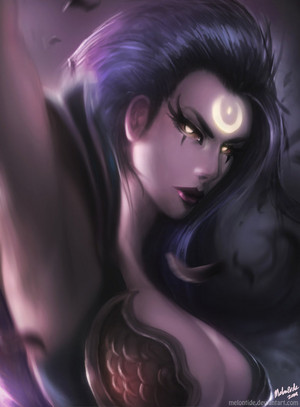 League Of Legends - Dark Valkyrie Diana