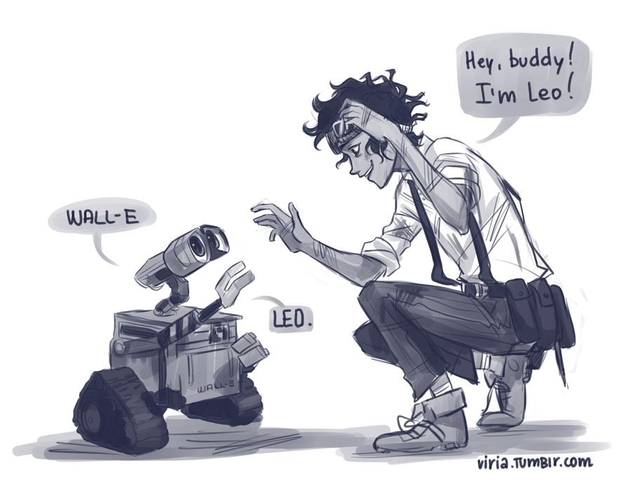 Leo and Wall-E
