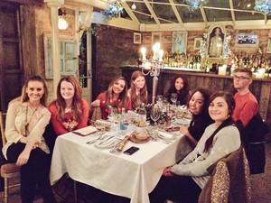 Little Mix natal jantar