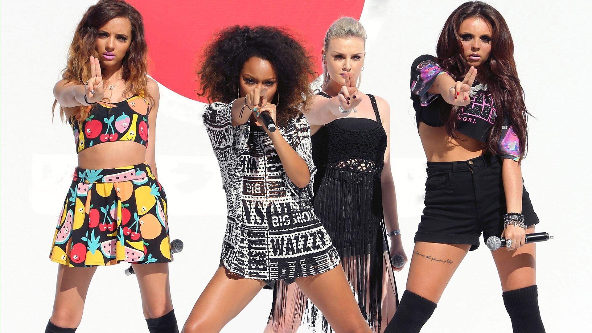 Little Mix karatasi la kupamba ukuta