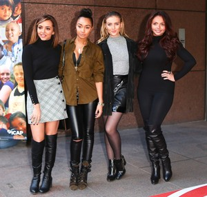 Little Mix at the 22nd annual ICAP Charity hari in London