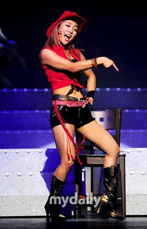 Luna at Coyote Ugly Musical