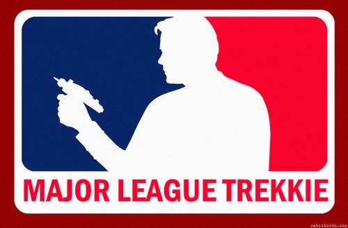 estrella trek fondo de pantalla called Major League Trekkie