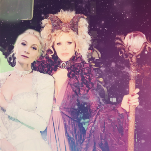 Maleficent and Snow Queen