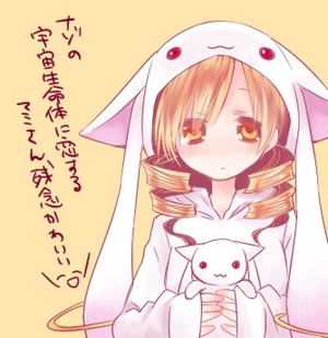 Mami and Kyubey..