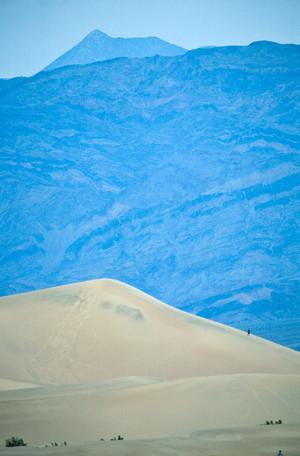 Man on Sand Dunes