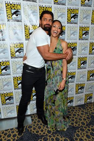 Manu and Cynthia