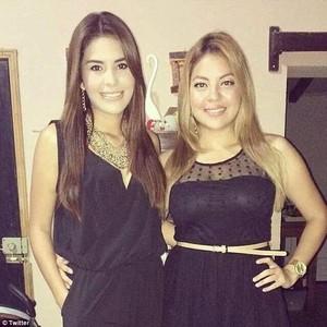 Maria Jose Alvarad and her sister