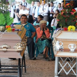 Maria Jose Alvarado funeral