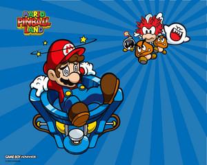 Mario Pinball Land Background