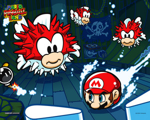 Mario Pinball Land Background