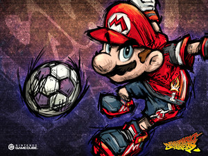 Mario Super Mario Strikers Background