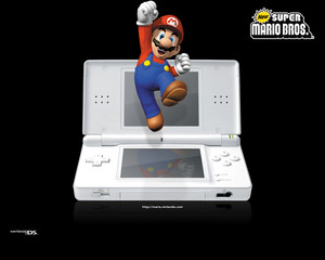 Mario and DS Background