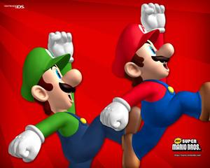 Mario and Luigi Background