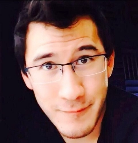Markiplier پیپر وال with a portrait titled Mark Fischbach