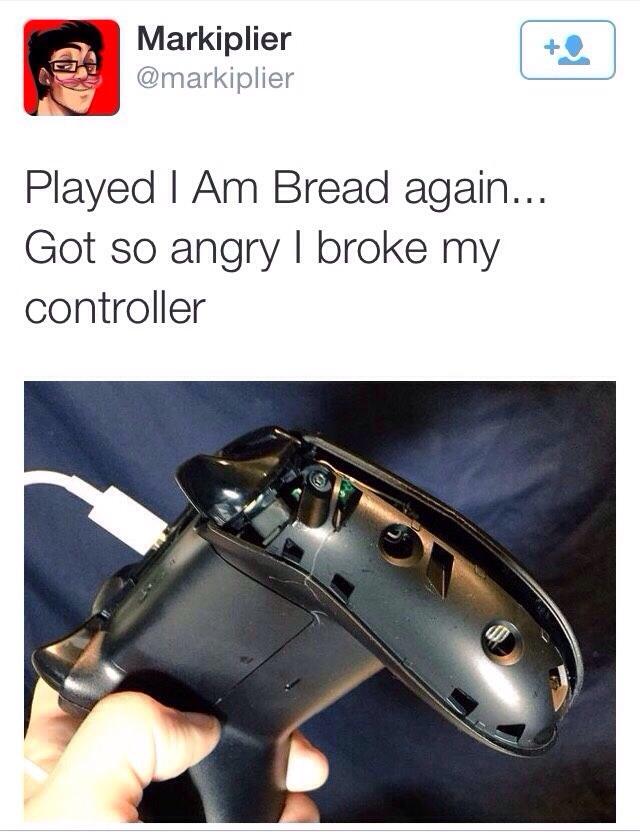 Markiplier's Tweet - I Am روٹی