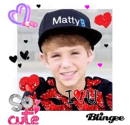 Matty B Raps Wallpaper Probably Containing A Portrait Called Mattyb So Cute