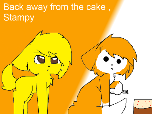 Stampylongnose wallpaper with anime called Me & Stampy