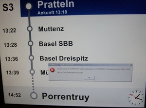 Meanwhile in the train