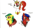Medieval characters - my-little-pony-friendship-is-magic fan art
