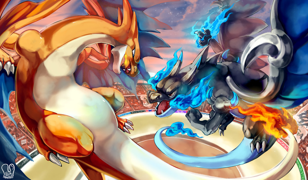 Omega Ruby And Alpha Sapphire Images Mega Charizard X Vs Y HD Wallpaper Background Photos
