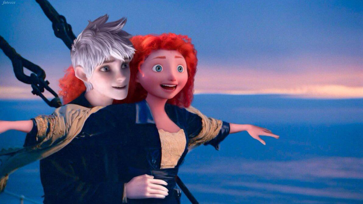 Merida x Jack Frost (Titanic)
