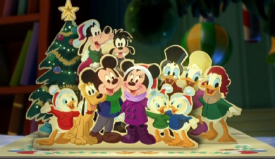 mickey and friends wallpaper called mickeys twice upon a christmas - Mickeys Twice Upon A Christmas