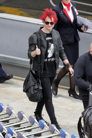 Mikey at Sidney Airport