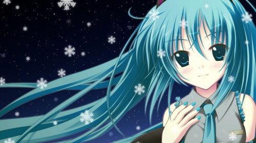 Vocaloids wallpaper entitled Miku HATSUNE (HD Wallpaper)