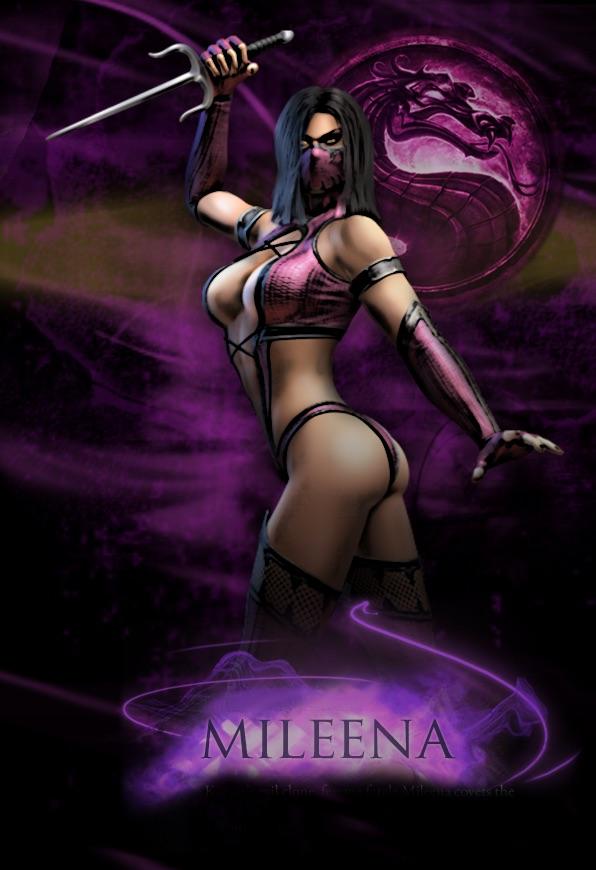 """Mileena: Shao Khan's """"daughter"""" and Kitana's """"sister"""""""