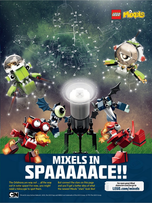 Mixels in Space