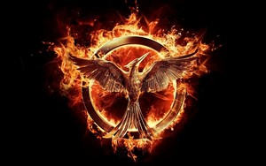Mockingjay Part 1 kertas dinding