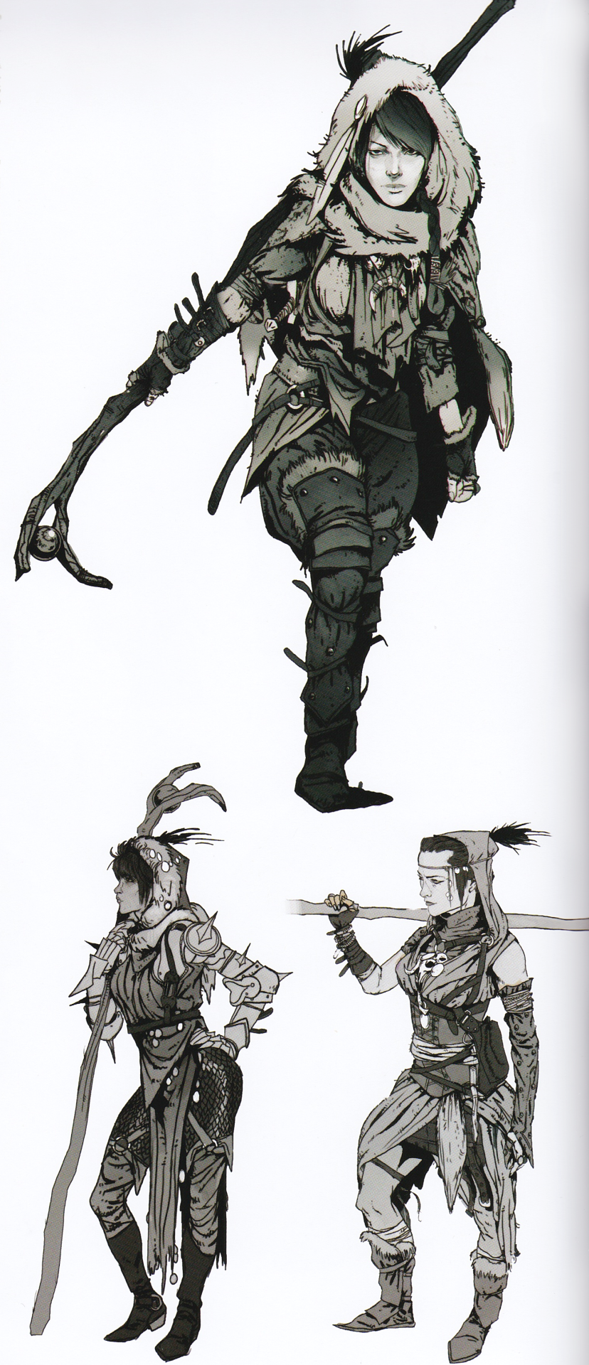 Dragon Age Origins Images Morrigan Concept Art From The Art Of
