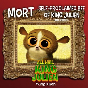 Mort: Self-proclaimed BFF of King Julien (and his feet)