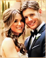 Mr. and Mrs. Ackles <3                                                 - jensen-ackles photo
