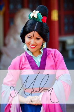 mulan Autograph