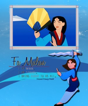 mulan - Poster
