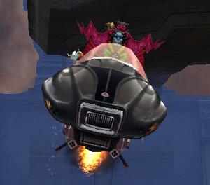 My sweet new hovercraft