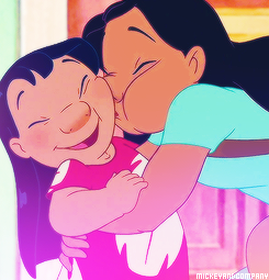 Lilo & Stitch Hintergrund titled Nani and Lilo