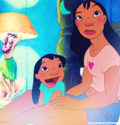 Lilo & Stitch wallpaper with animê called Nani and Lilo