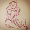 Nani sketch - lilo-and-stitch photo